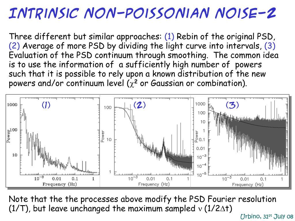 Intrinsic non-Poissonian noise-2