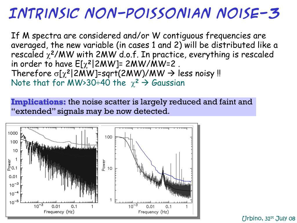 Intrinsic non-Poissonian noise-3