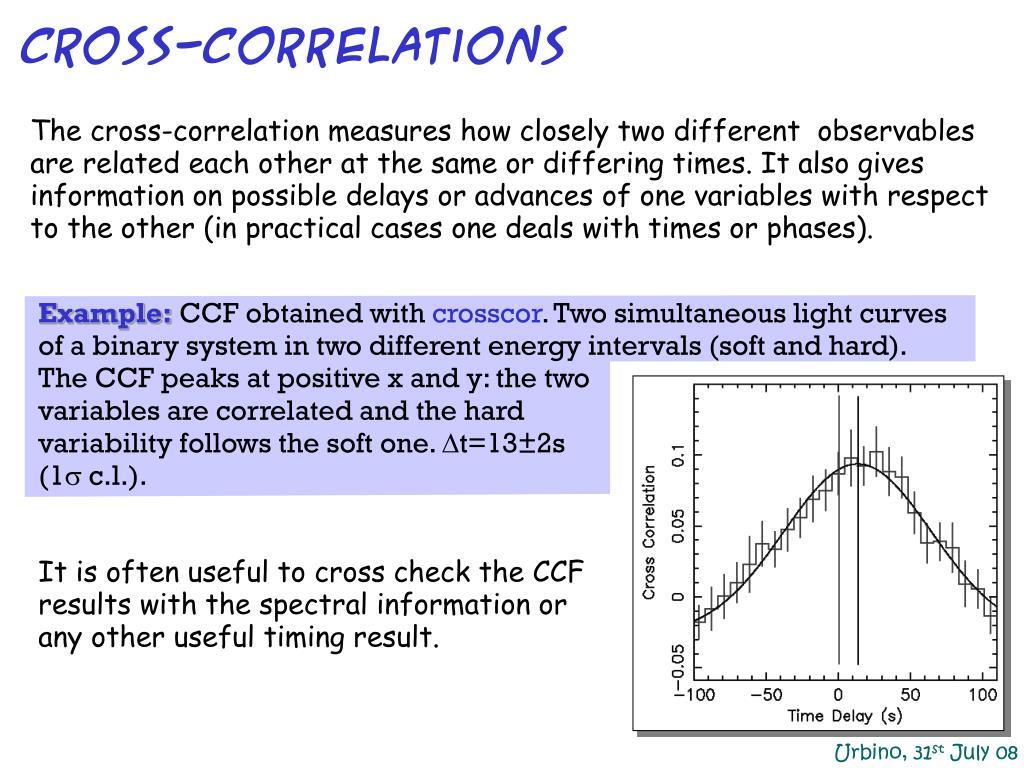 Cross-correlations