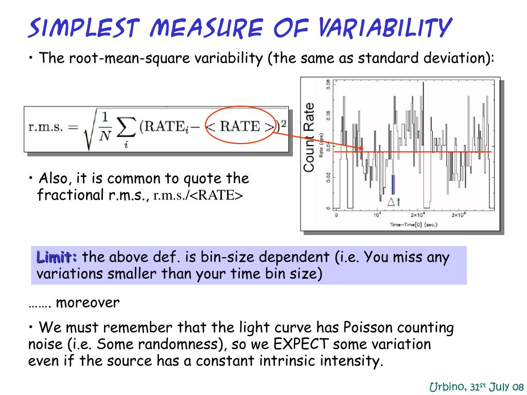 Simplest Measure of Variability