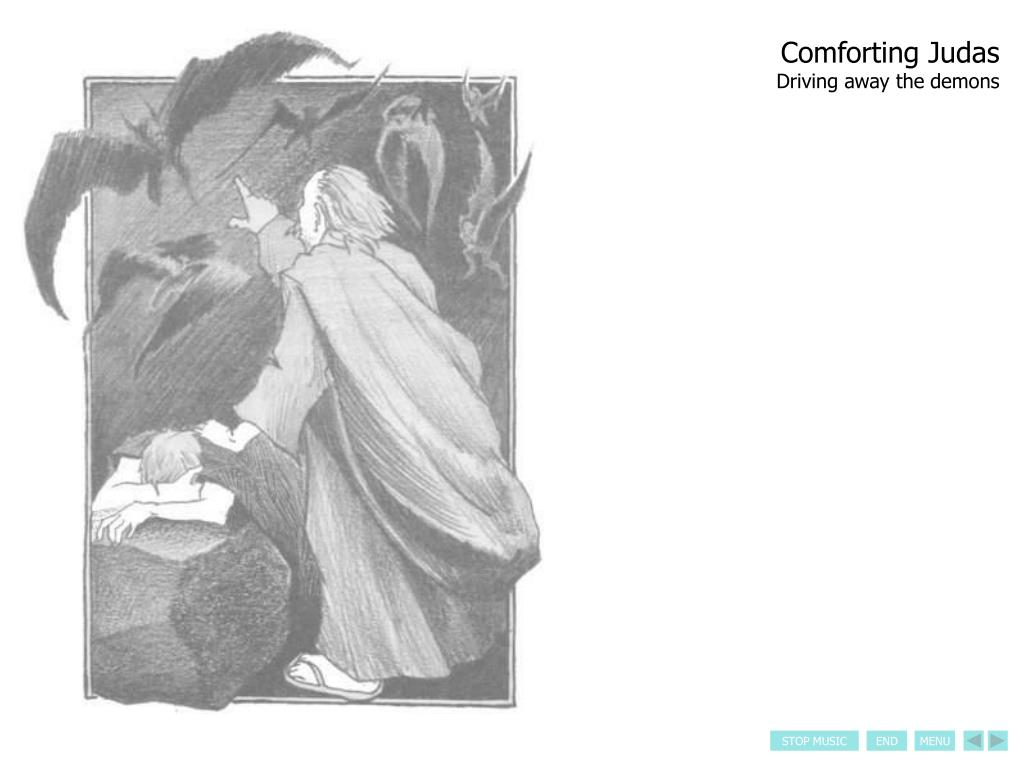 Comforting Judas