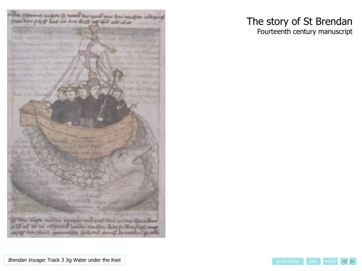 The story of St Brendan