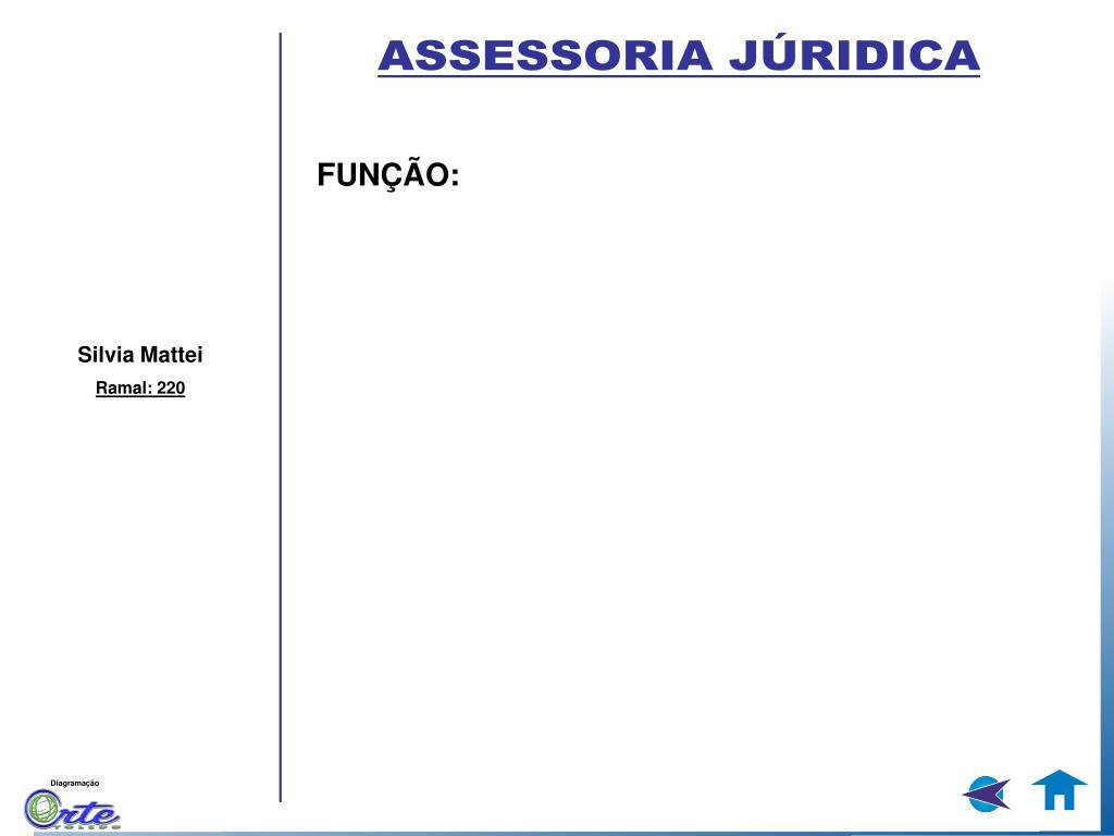 ASSESSORIA JÚRIDICA
