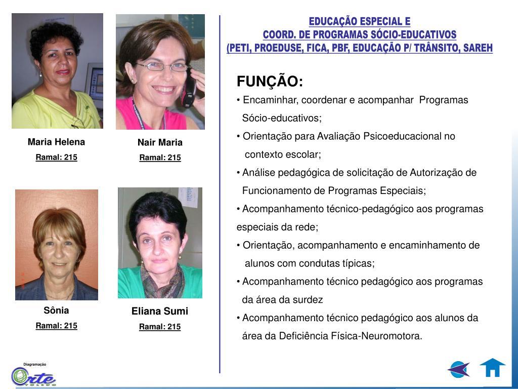 EDUCAÇÃO ESPECIAL E