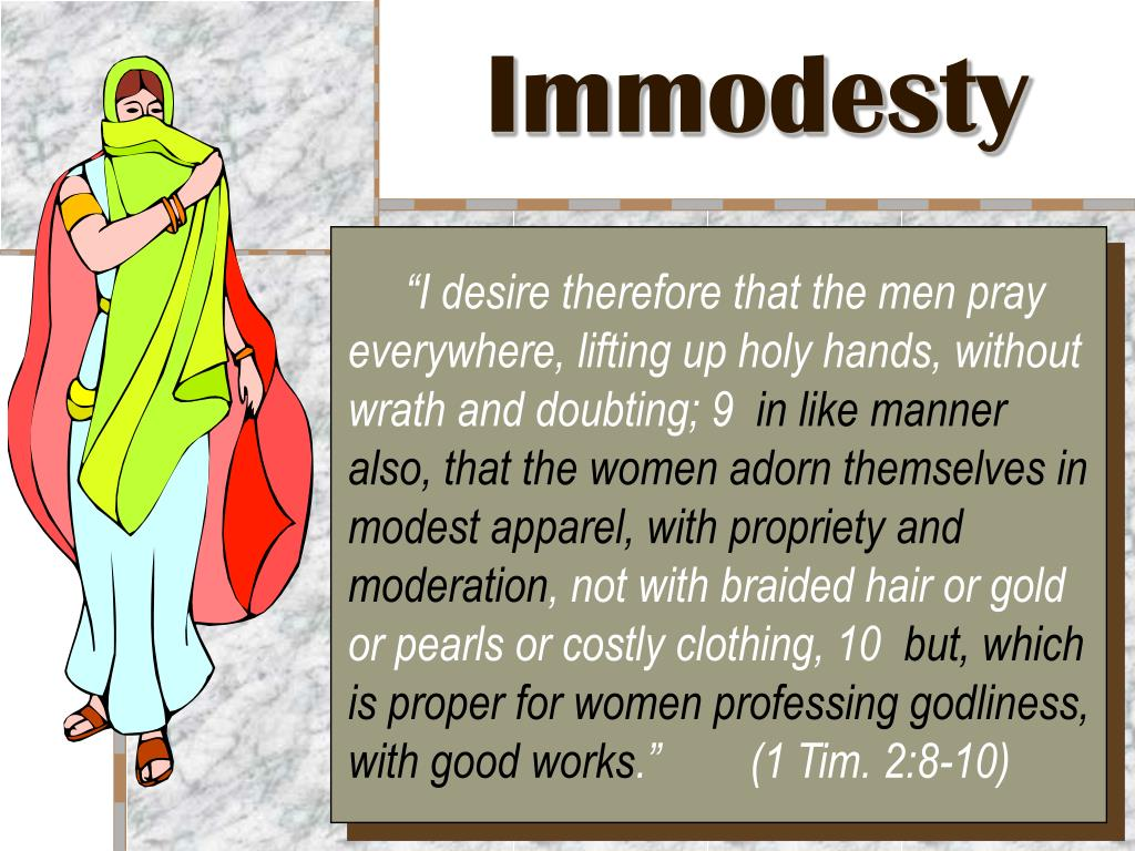 immodesty l.