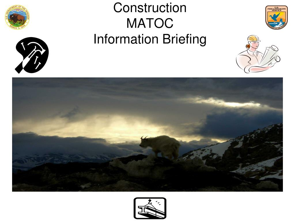 construction matoc information briefing l.