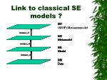 link to classical se models