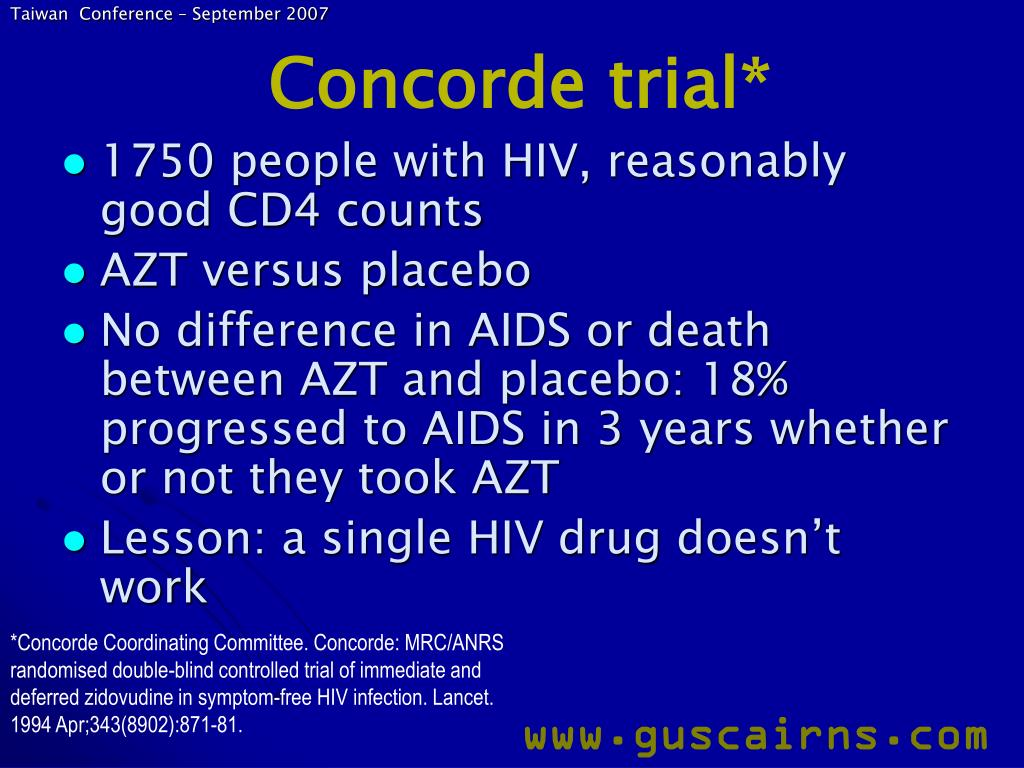 Concorde trial*
