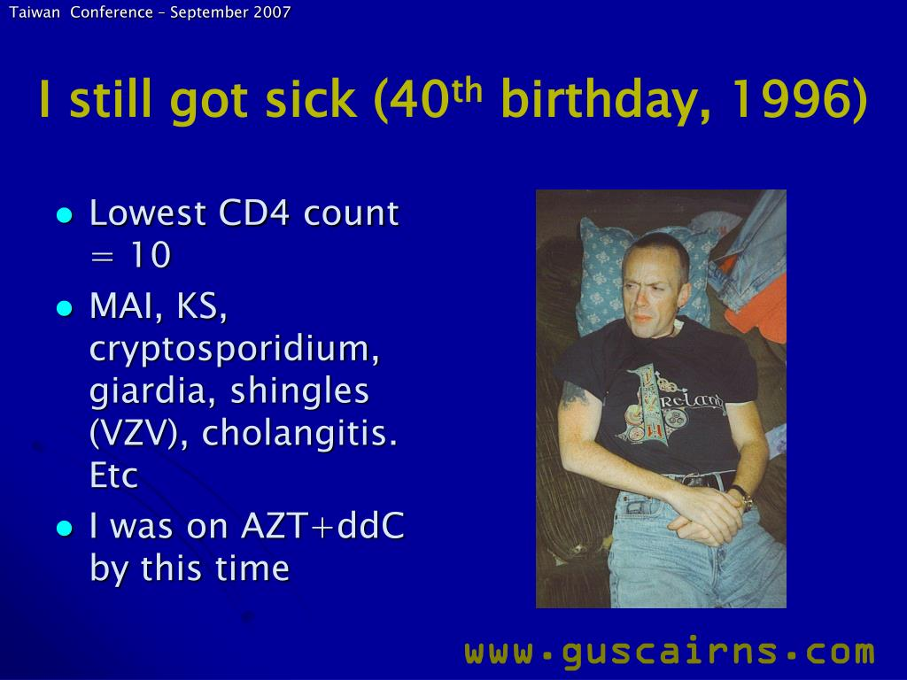 I still got sick (40