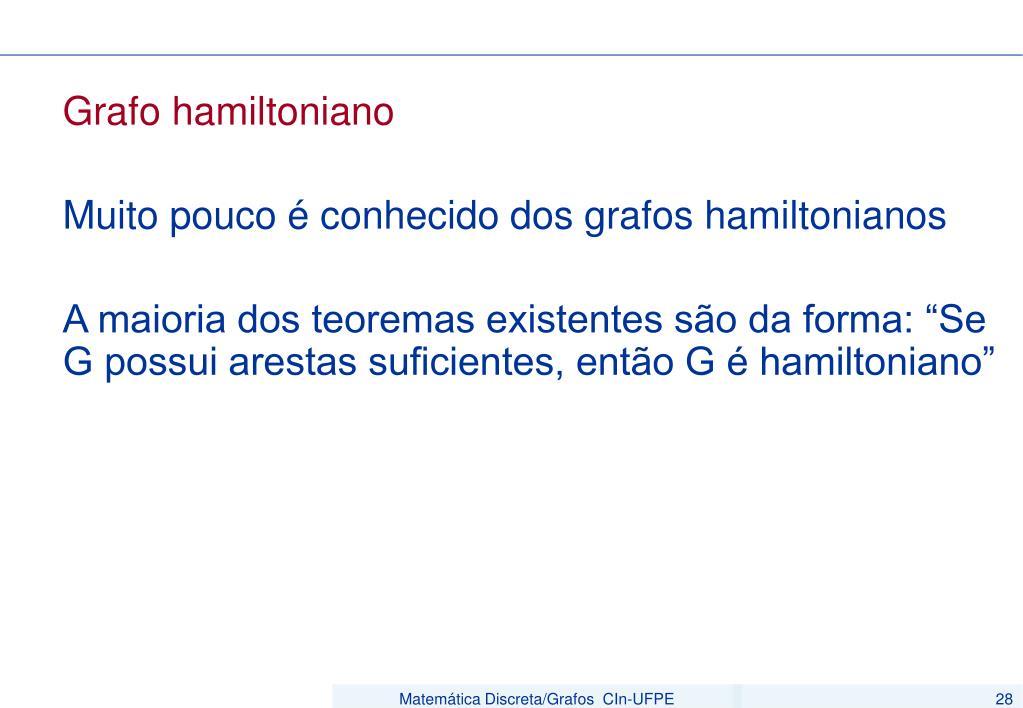 Grafo hamiltoniano