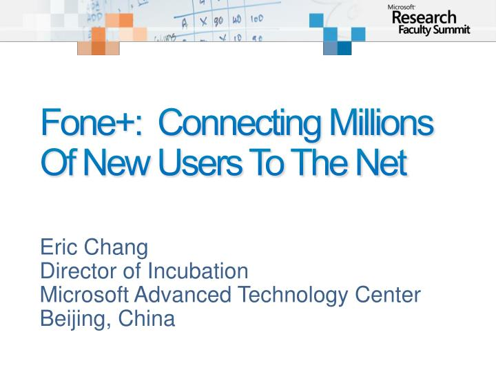 Fone connecting millions of new users to the net