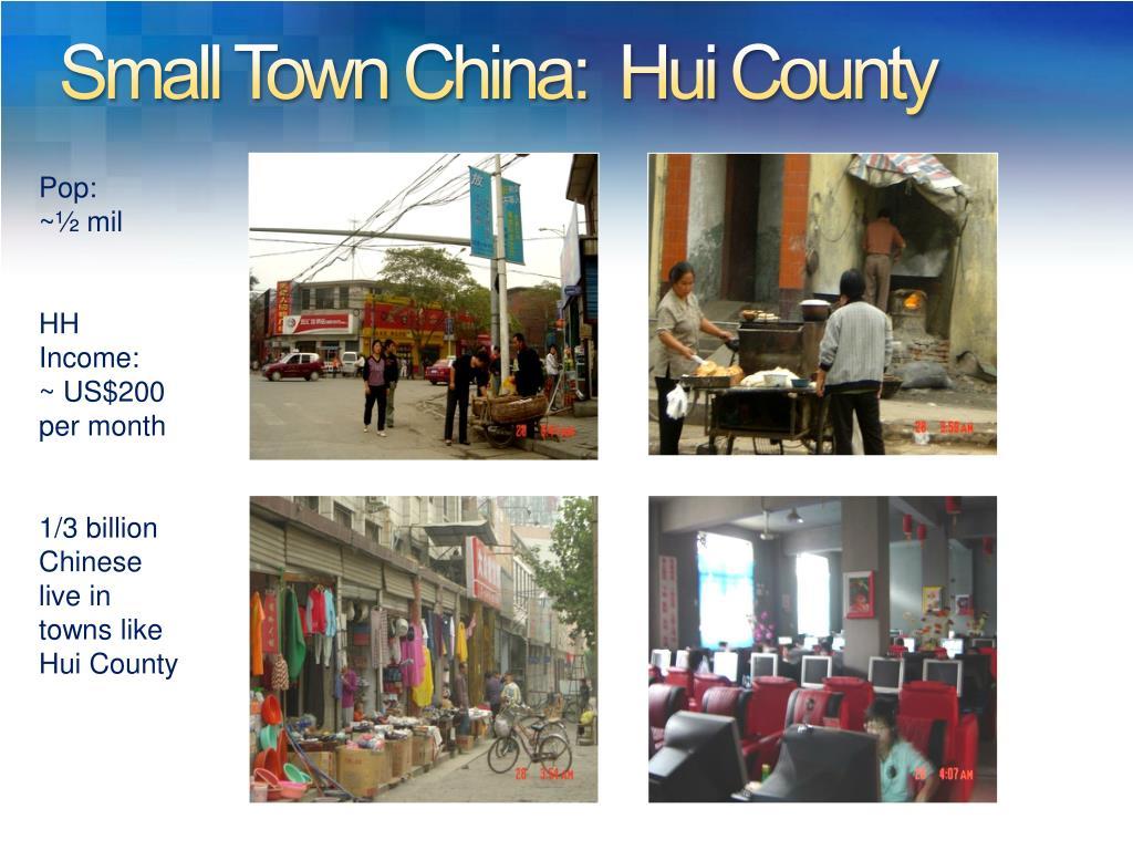 Small Town China: