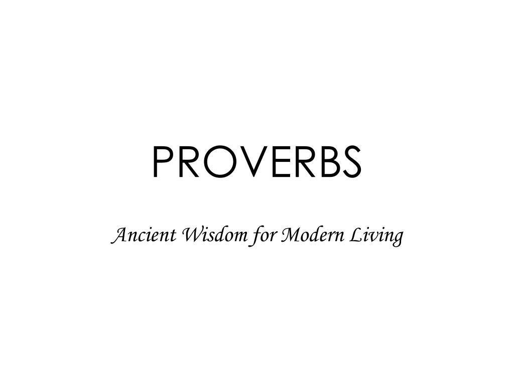 proverbs l.