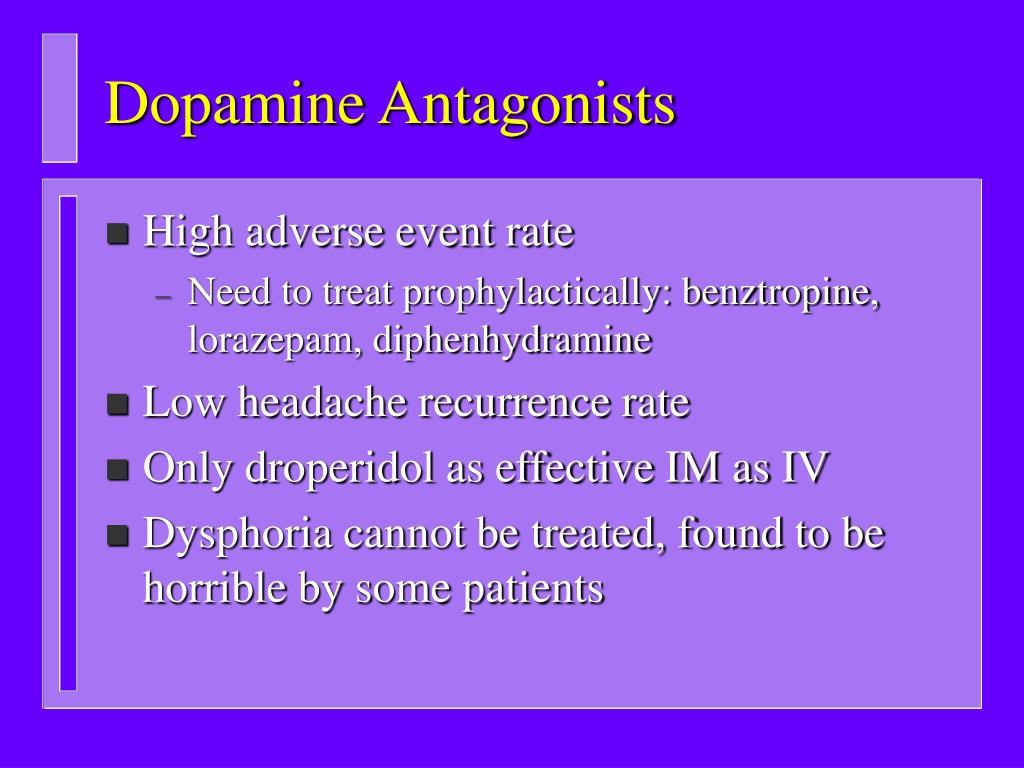 Dopamine Antagonists