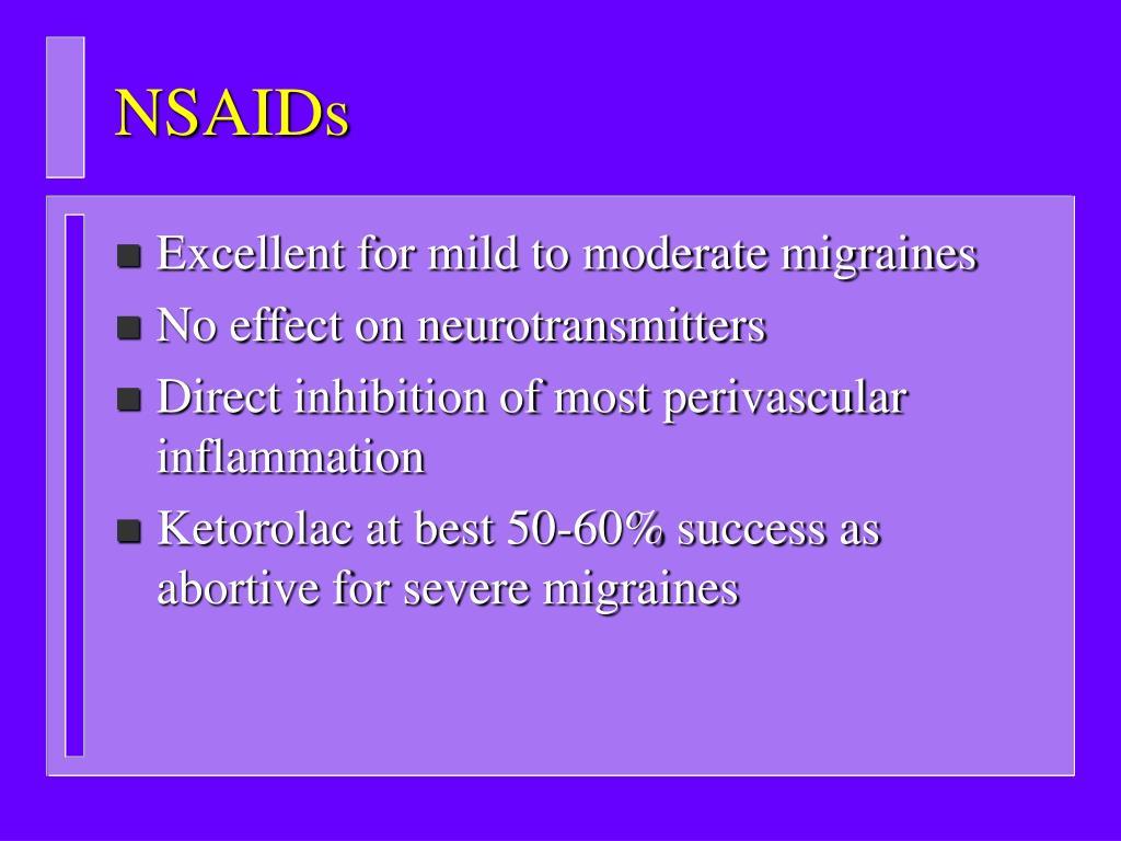 NSAIDs