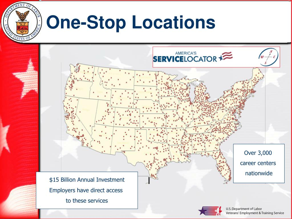 One-Stop Locations