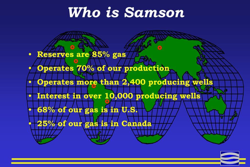 Who is Samson