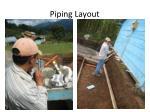 piping layout