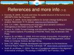 references and more info 1 2