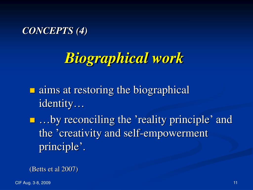 CONCEPTS (4)