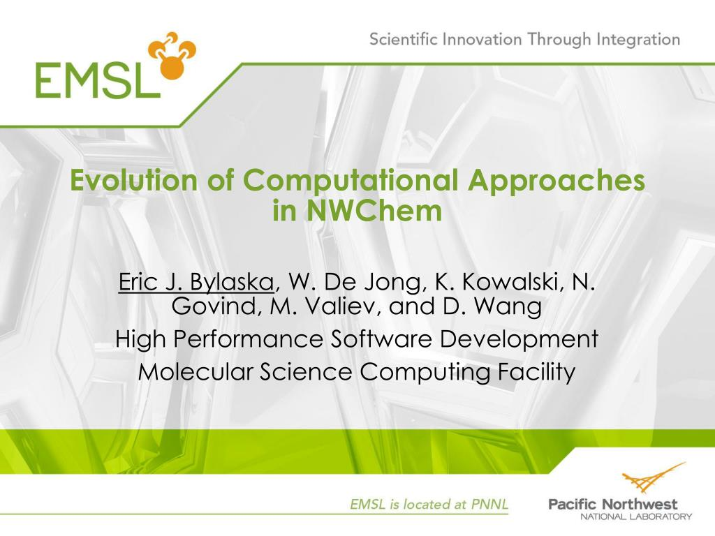 Evolution of Computational Approaches in NWChem