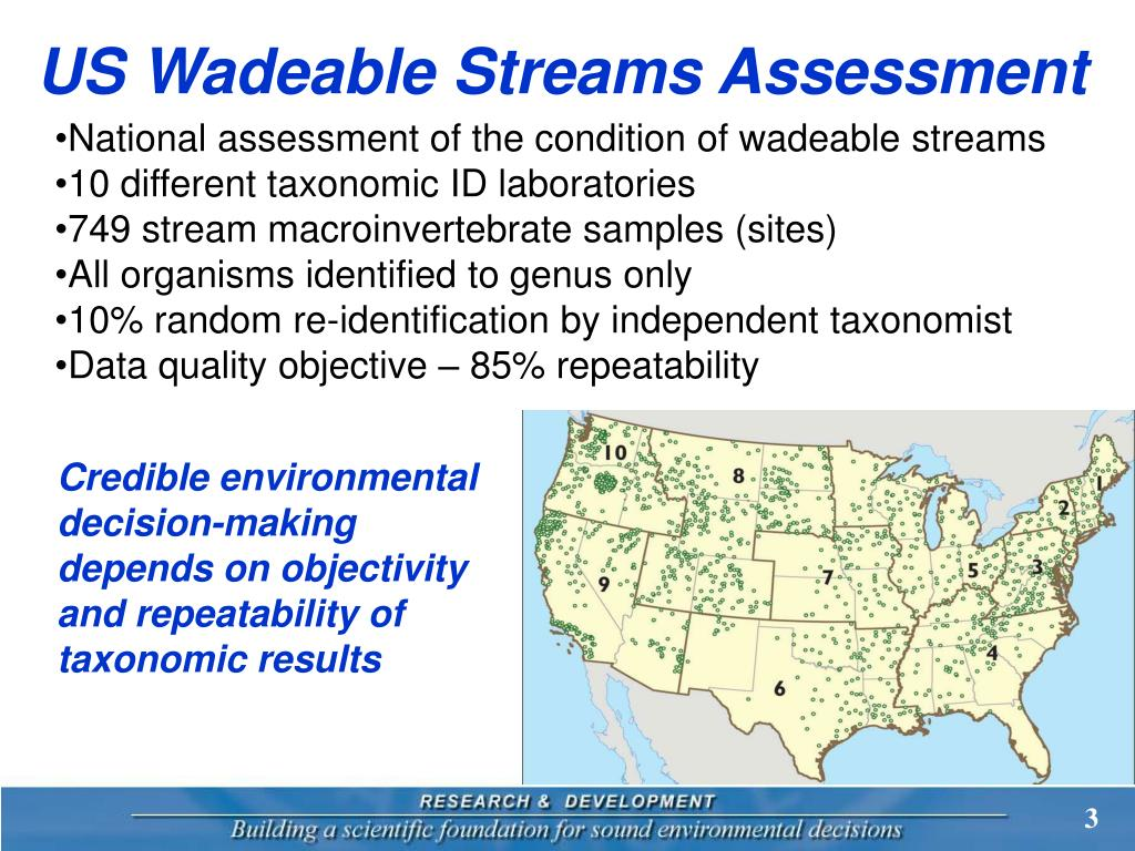US Wadeable Streams Assessment