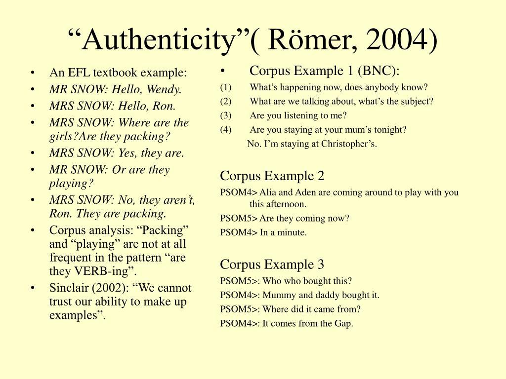 An EFL textbook example: