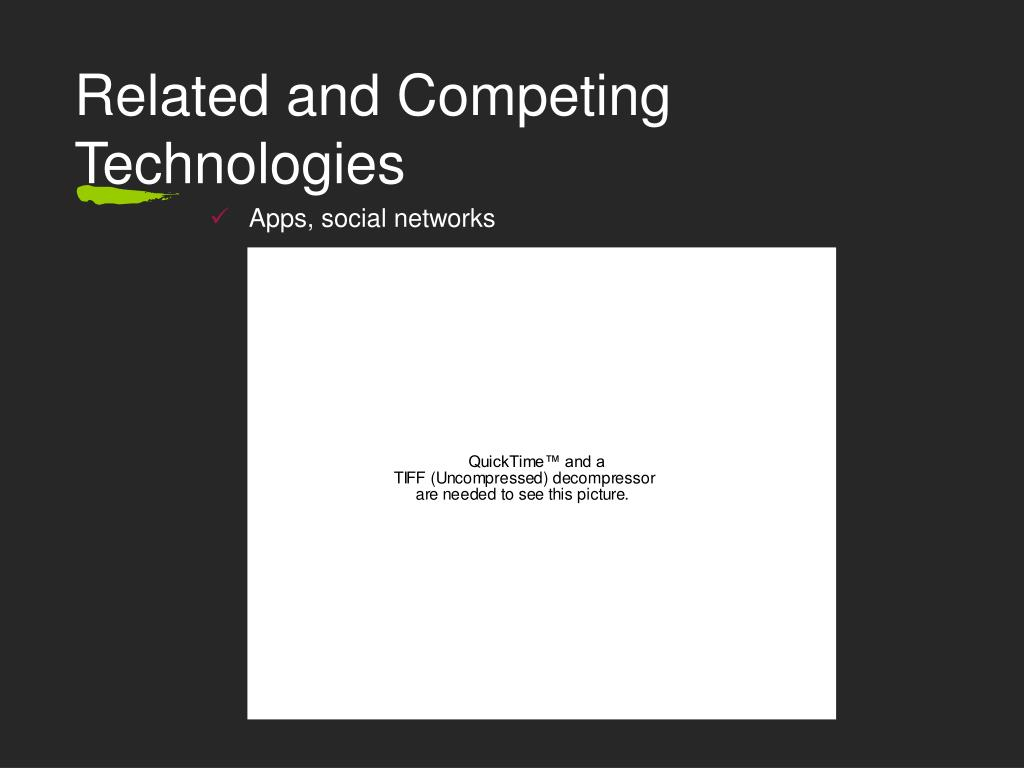 Related and Competing Technologies