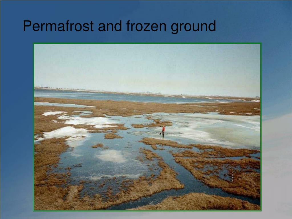 Permafrost and frozen ground