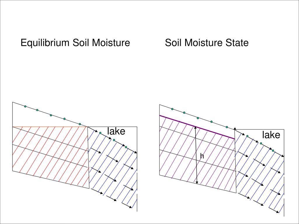 Equilibrium Soil Moisture