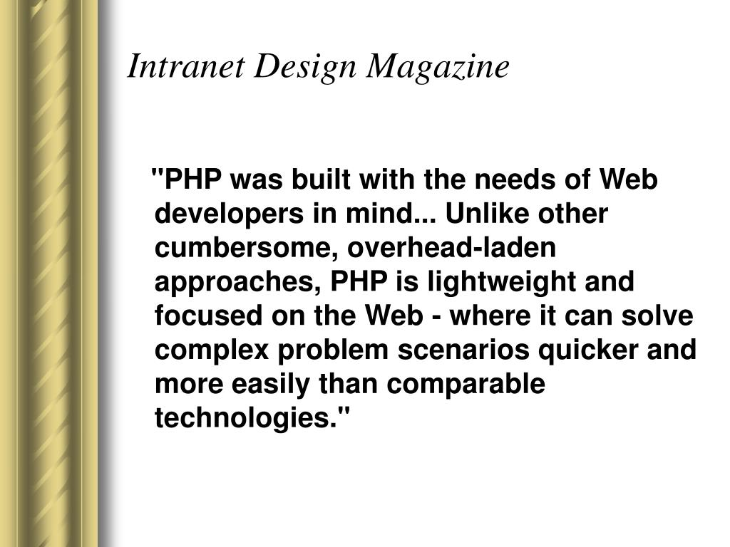 Intranet Design Magazine