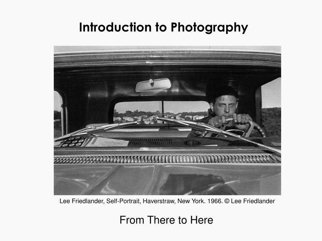 introduction to photography l.