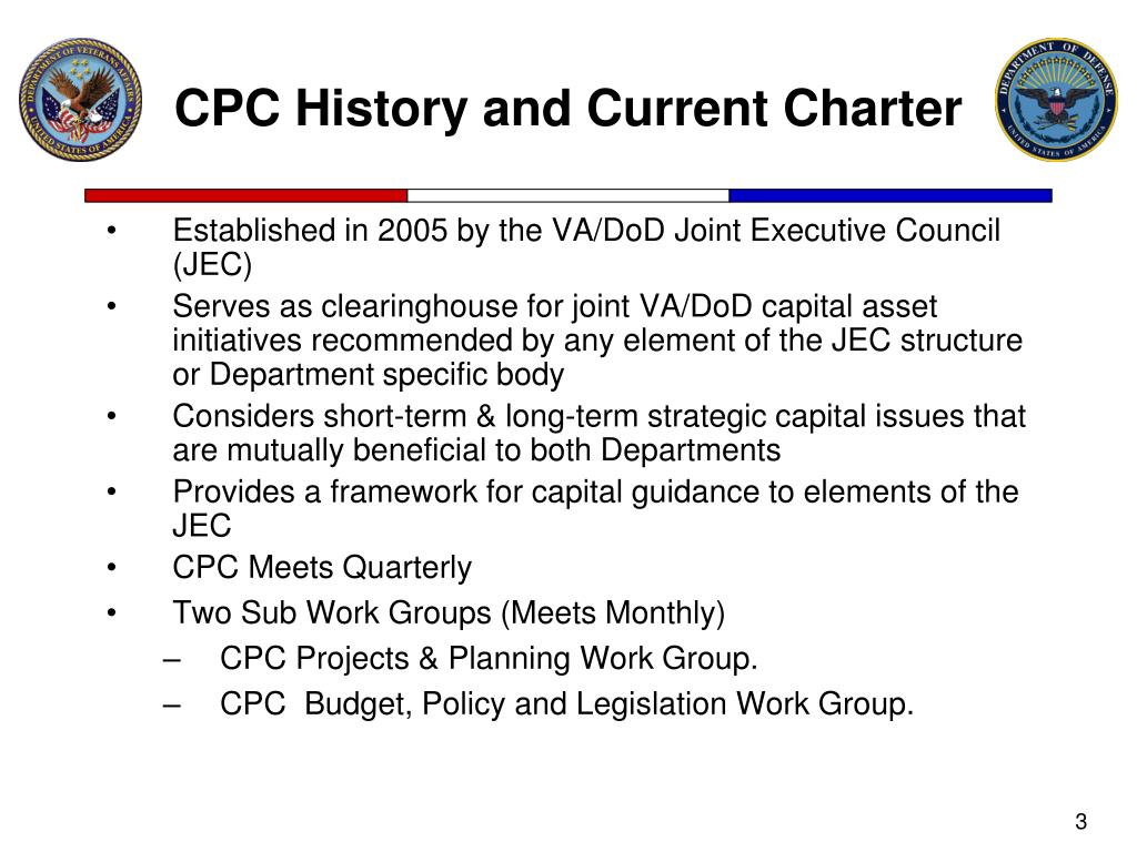 CPC History and Current Charter