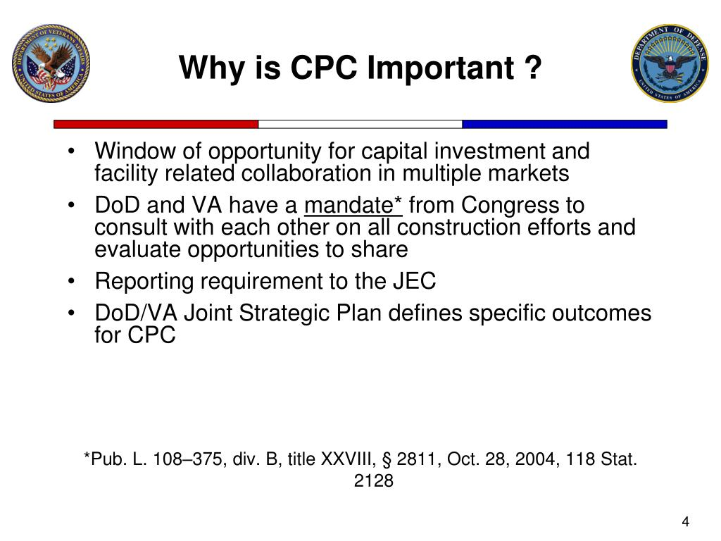 Why is CPC Important ?