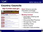 country councils