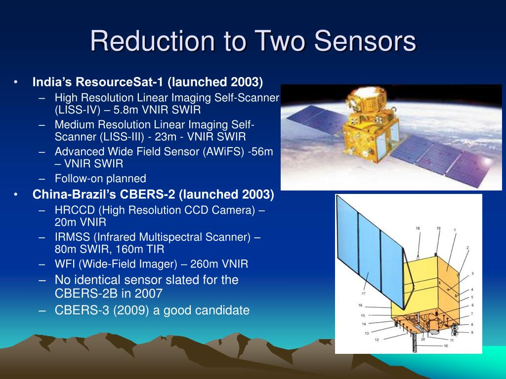 Reduction to Two Sensors