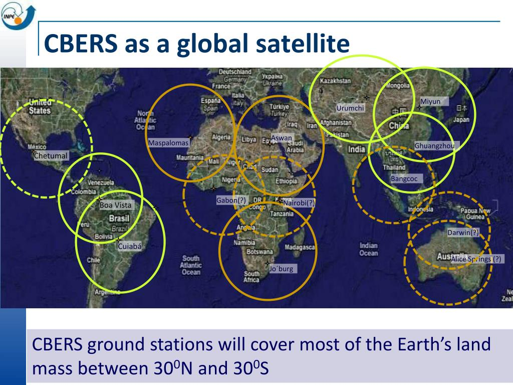 CBERS as a global satellite