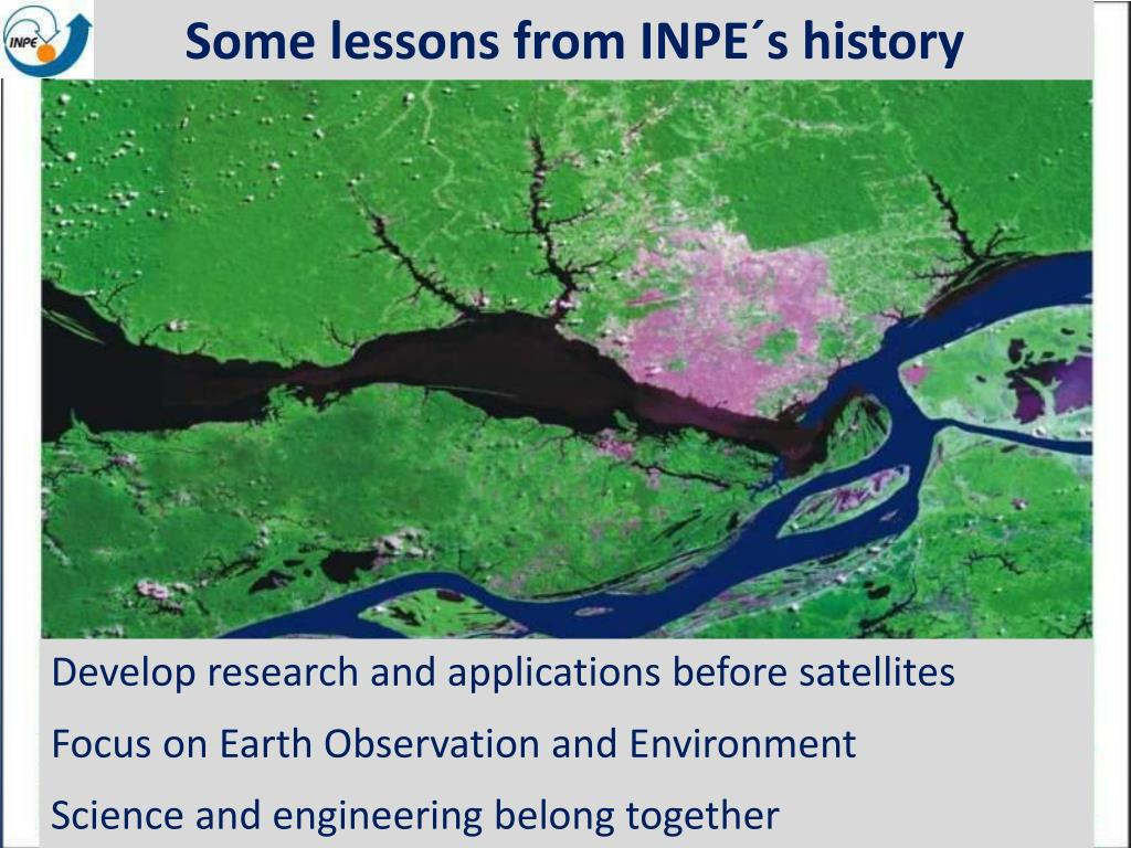Some lessons from INPE´s history