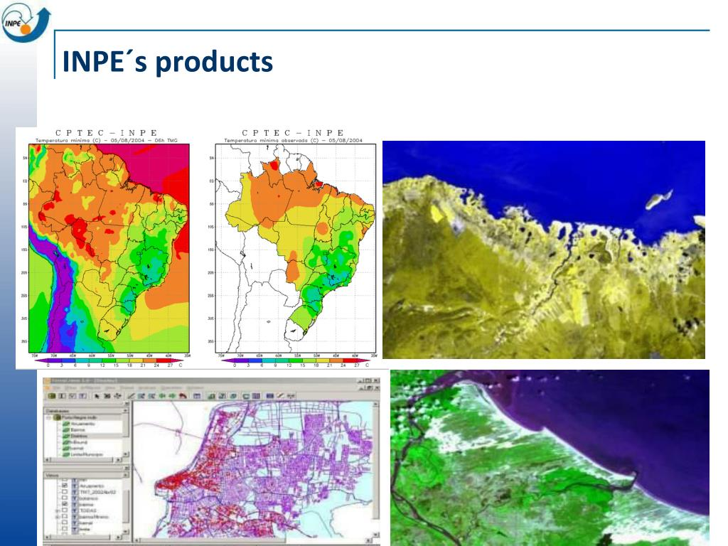 INPE´s products