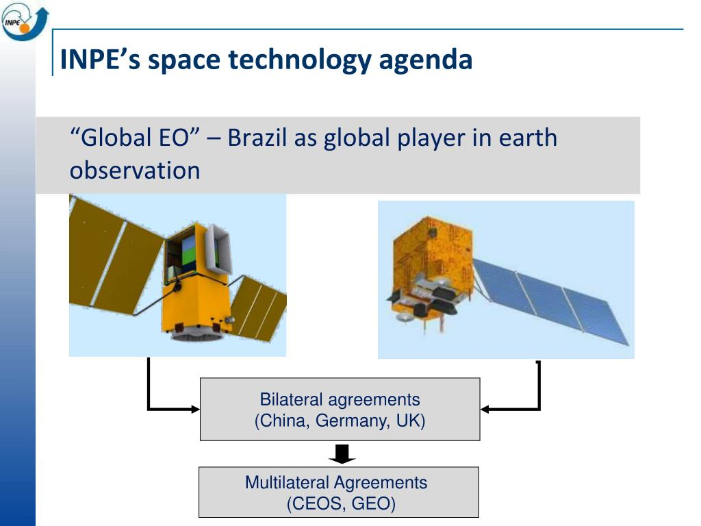 INPE's space technology agenda