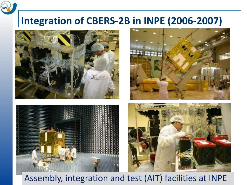 Integration of CBERS-2B in INPE (2006-2007)