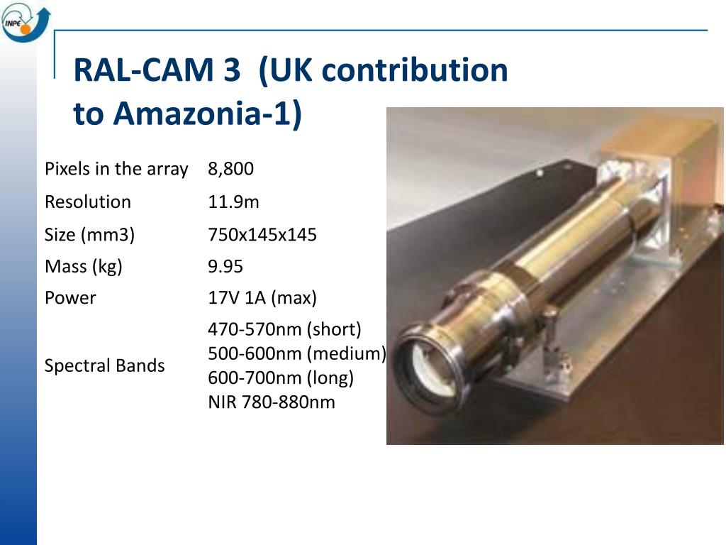 RAL-CAM 3  (UK contribution