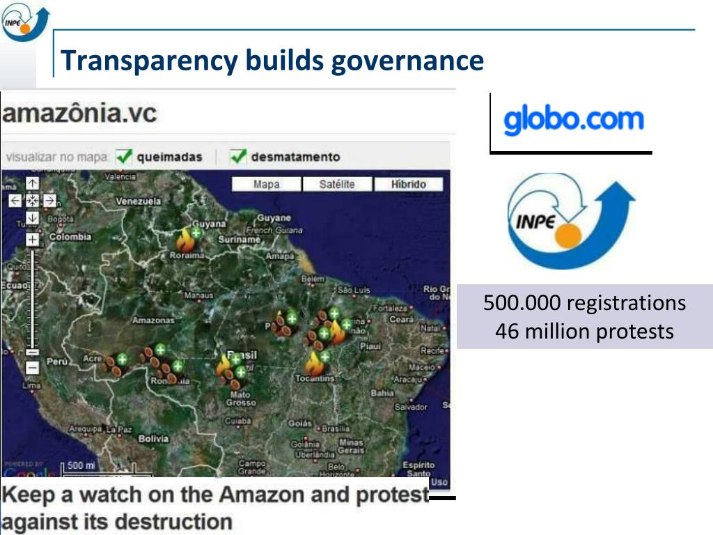 Transparency builds governance
