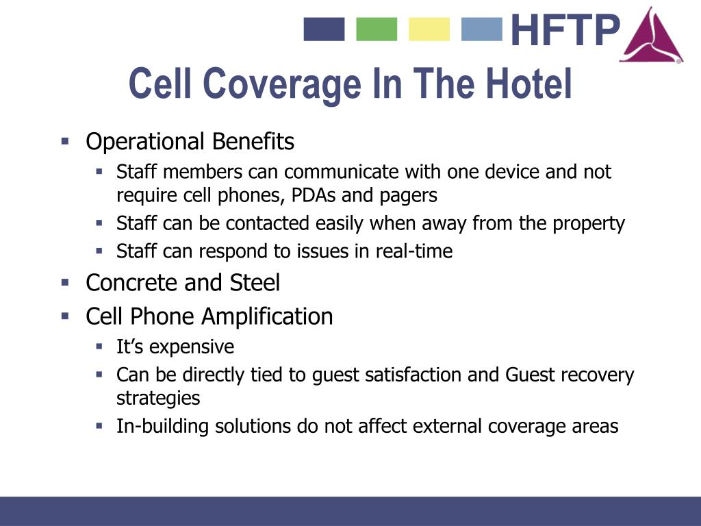Cell Coverage In The Hotel