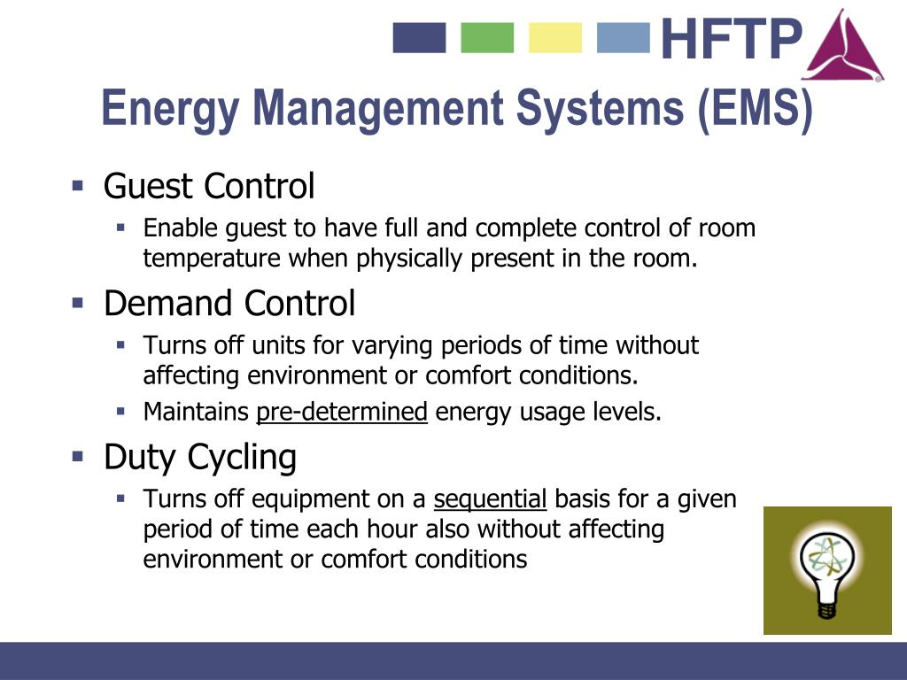 Energy Management Systems (EMS)