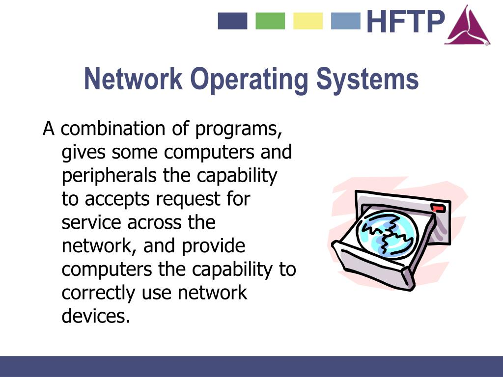 A combination of programs, gives some computers and peripherals the capability to accepts request for service across the network, and provide computers the capability to correctly use network devices.