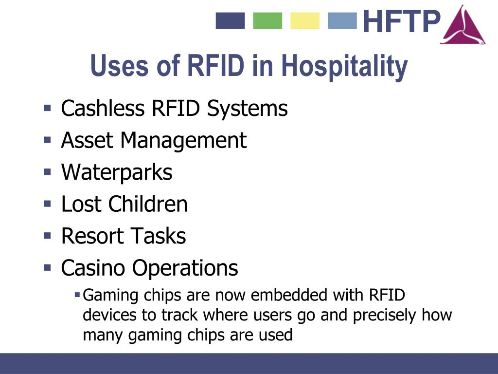 Uses of RFID in Hospitality
