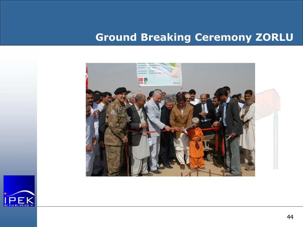 Ground Breaking Ceremony ZORLU
