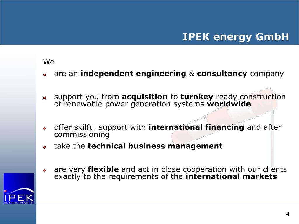 IPEK energy GmbH