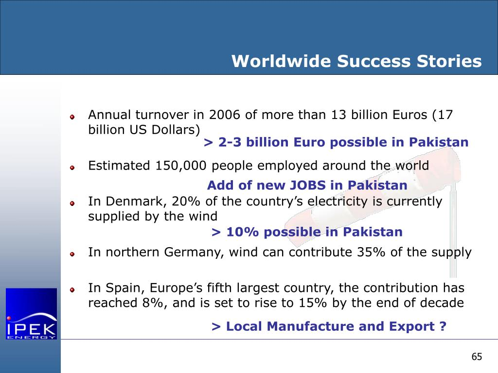Worldwide Success Stories